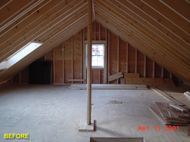 attic conversion stairs ideas - Attic Remodeling by Advantage Remodeling of Arlington MA
